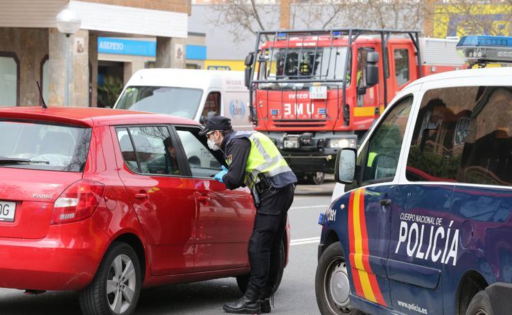 La UME y la Policía Nacional controlan las calles