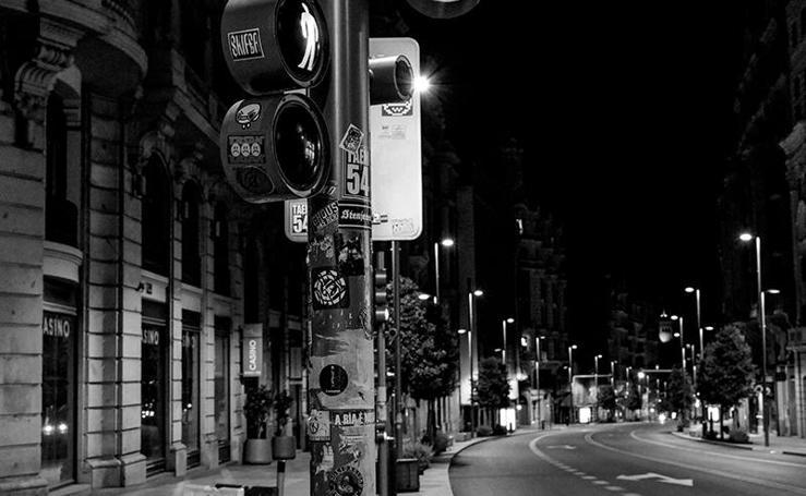 El coronavirus vacía las calles de Madrid