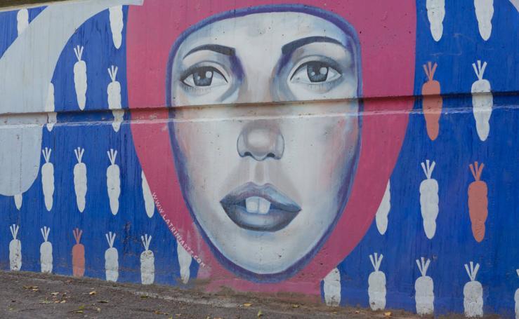 Arte urbano, un museo en calles y fachadas