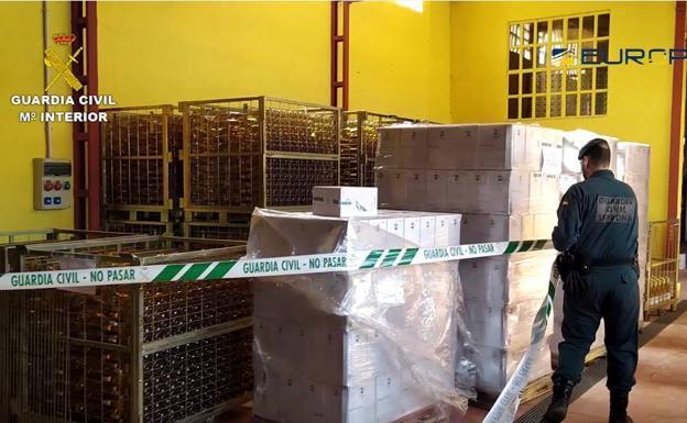 Imagen de la operación de ámbito nacional, que también ha registrado irregularidades en La Rioja. /G.C.