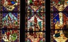 Las vidrieras de las catedrales