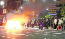 Graves incidentes en Logroño y Haro tras las protestas contra las restricciones