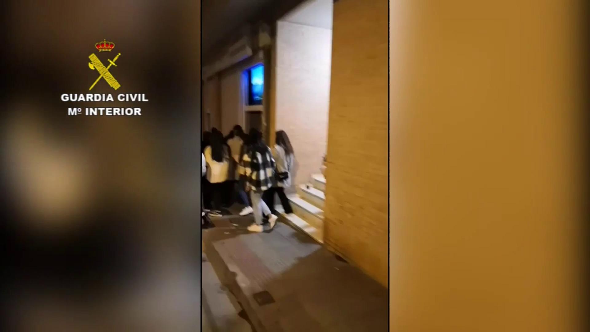 Ocho sanciones para el bar desalojado por la Guardia Civil en Villamediana