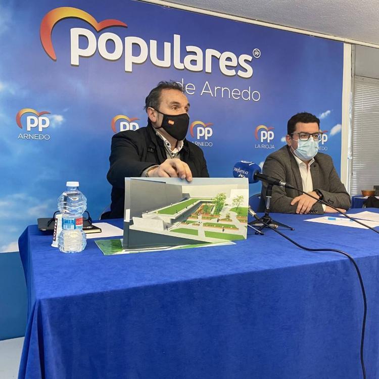 El PP plantea 500.000 euros a un nuevo centro de mayores para Arnedo en La Baronesa