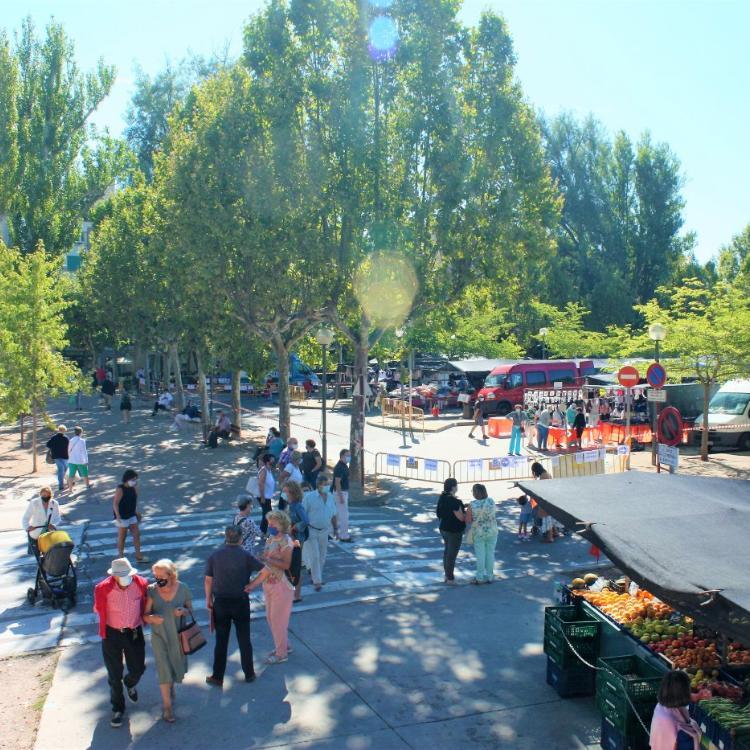 El paso peatonal del mercadillo de Nájera se revisará
