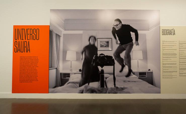 La sala Amós Salvador acoge una retrospectiva sobre la faceta de Carlos Saura como fotógrafo