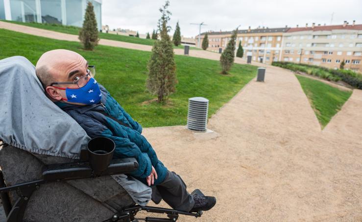 El parque Felipe VI, una colina no apta para todos