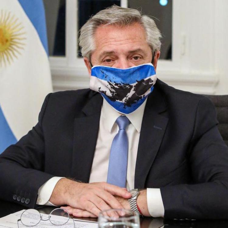 El presidente argentino da positivo por coronavirus pese a estar vacunado