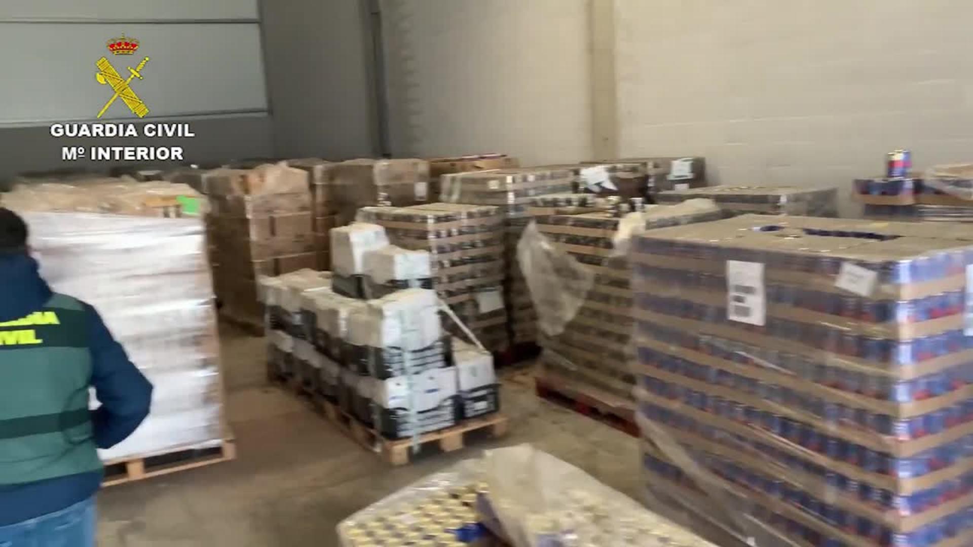Intervenidas más de 176 toneladas de alimentos por incumplir la normativa sanitaria