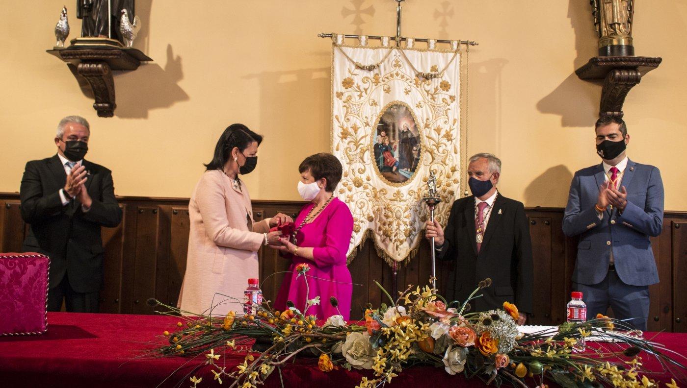 José María Rodrigo y María Teresa Aranjuelo cumplen su «sueño» de ser priores