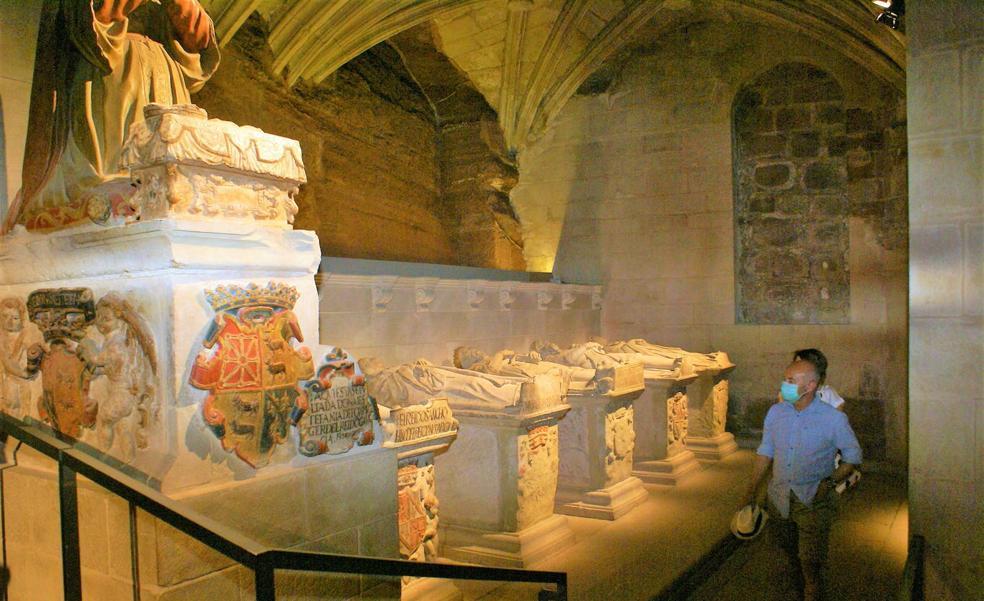 Santa María la Real de Nájera vuelve a abrir los fines de semana desde el día 15