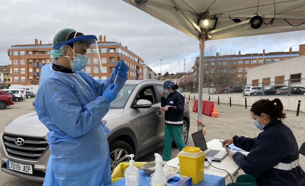 Haro comenzará a vacunar el próximo martes a la población de entre 55 y 59 años