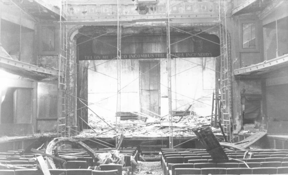 La Retina: el Teatro Bretón, seis años después de su incendio