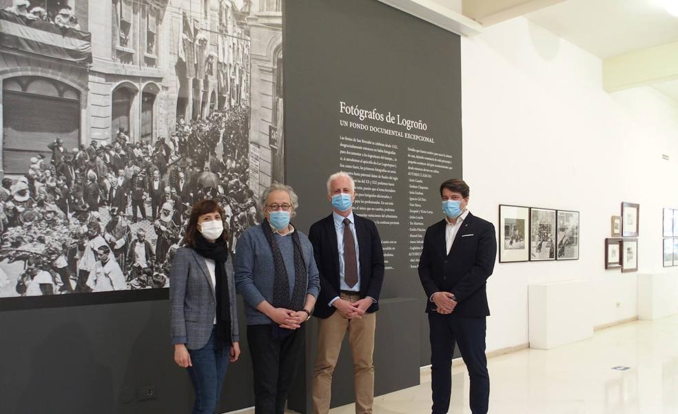 Una exposición recrea tres siglos de San Bernabé en Logroño