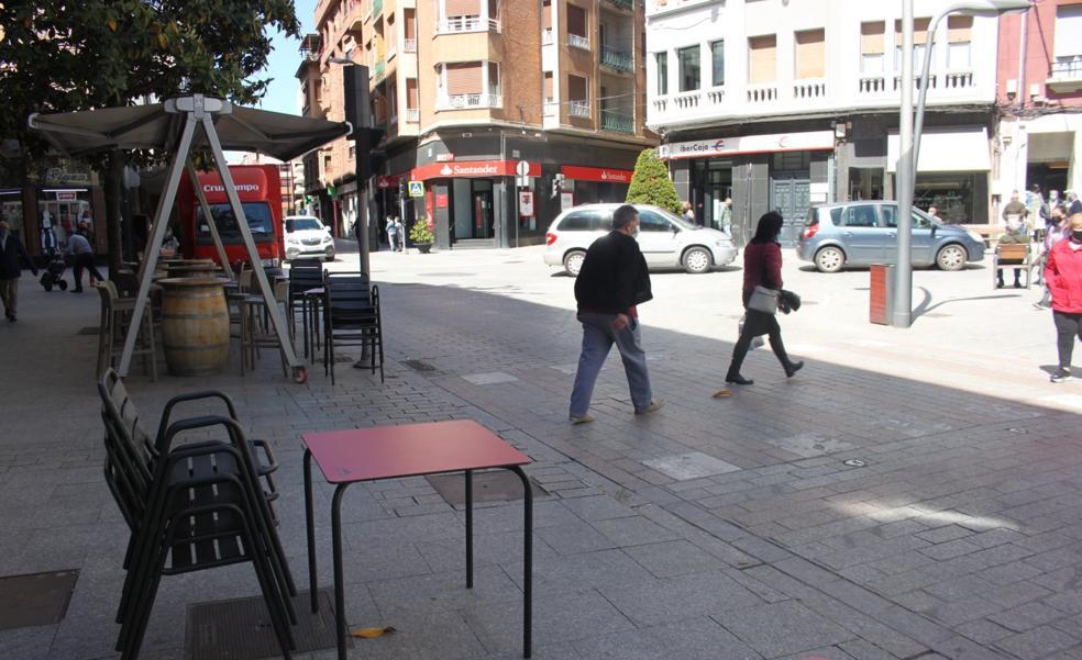 El centro arnedano se peatonaliza el fin de semana para «maximizar el espacio público»