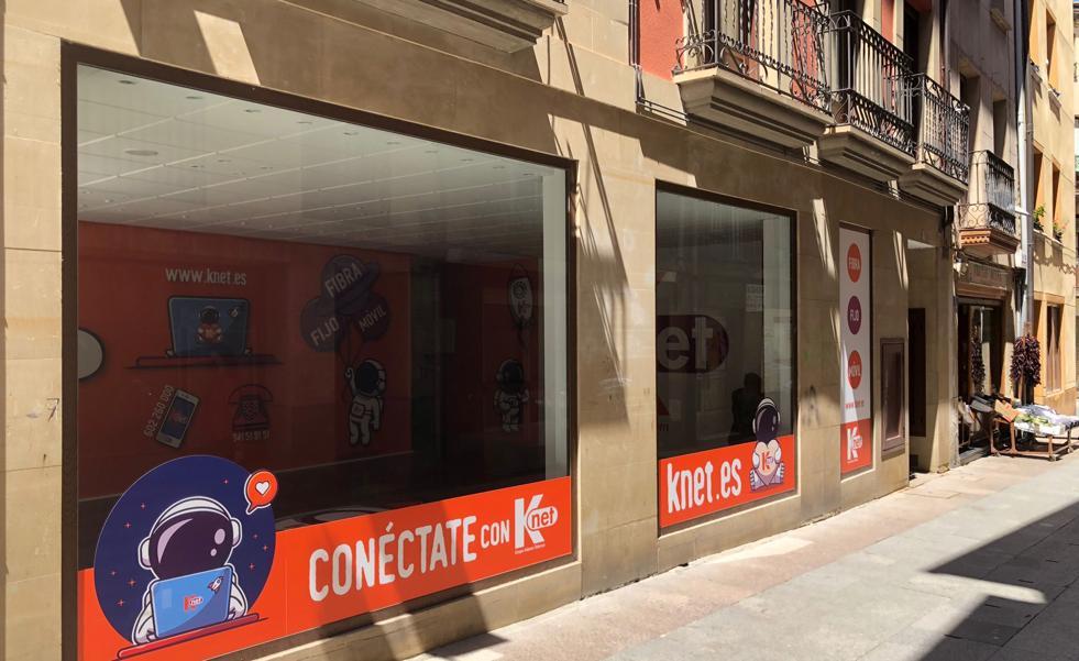 KNET inaugura tienda nueva en Santo Domingo de la Calzada