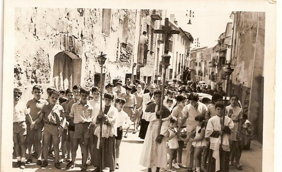 Multitudinaria procesión de San Roque en Tudelilla