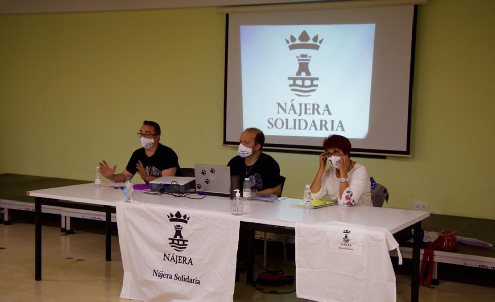 Nájera Solidaria, una asociación que se fraguó en la pandemia