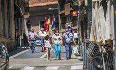 Alfaro, Libre de COVID