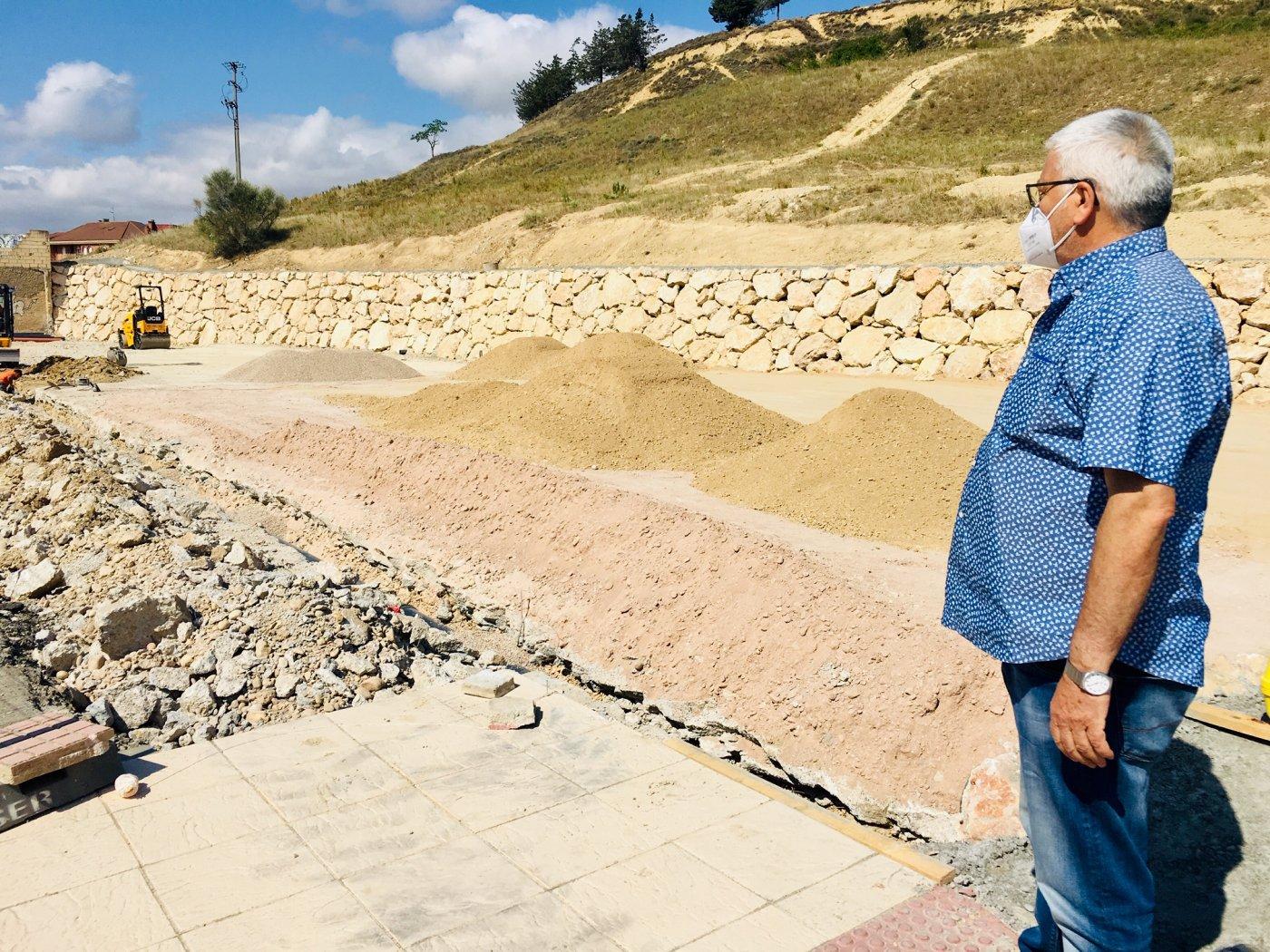 Las obras del aparcamiento de 'La Vega' llegan a su ecuador