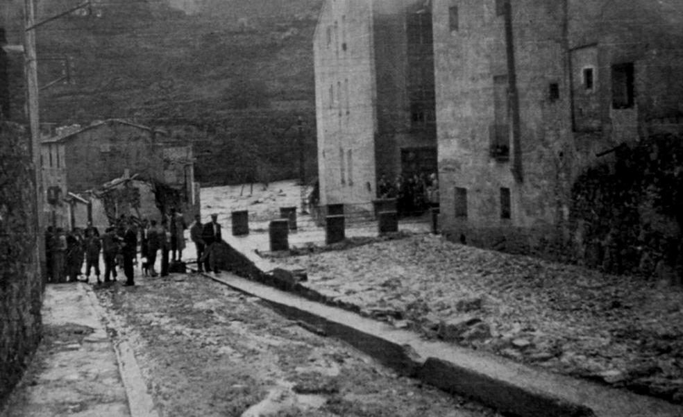 La Retina: inundaciones en Cervera en el año 1956