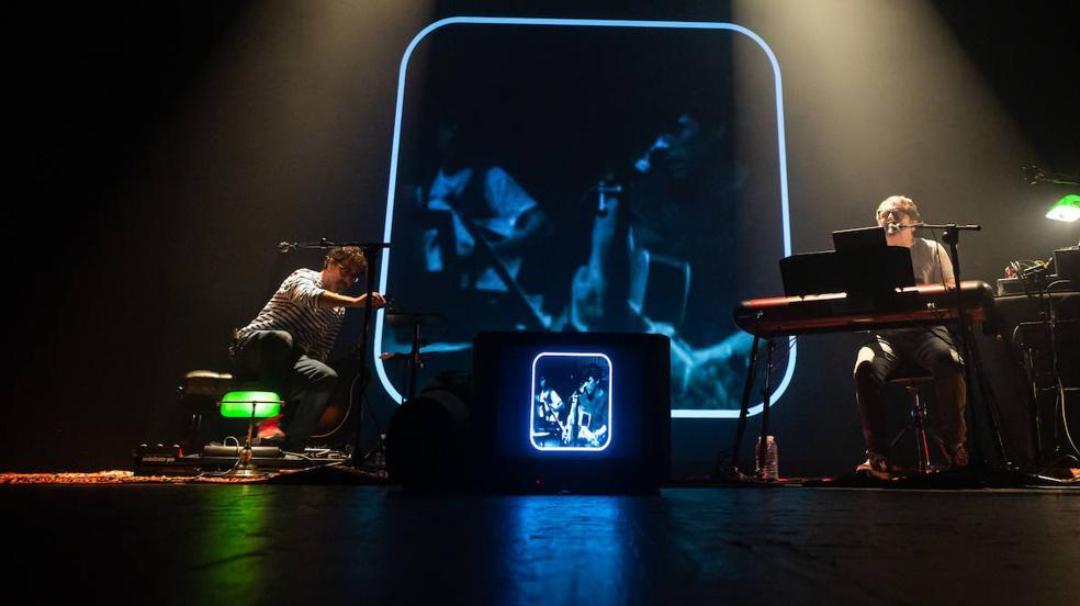 Las imágenes del concierto de Iván Ferreiro en Logroño
