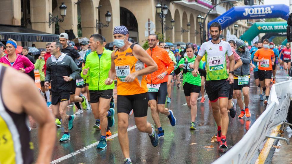 Las imágenes de la maratón Ciudad de Logroño