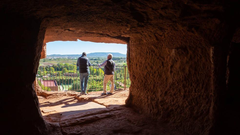 Así son las cuevas de Nájera