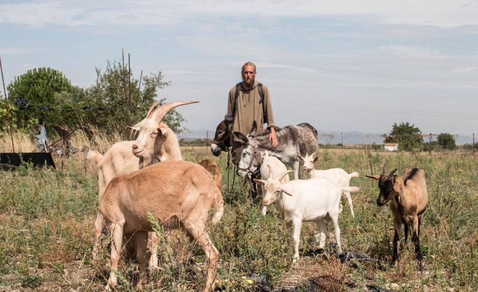 Pierre y sus animales se van por los cerros... de Guadarrama