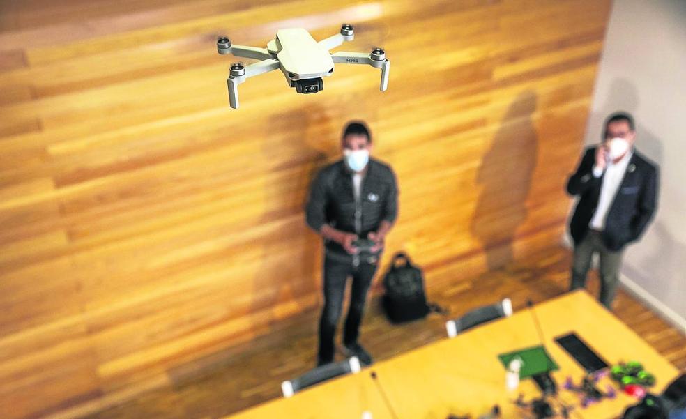 Los drones toman hoy Logroño con una jornada técnica y un espectáculo nocturno