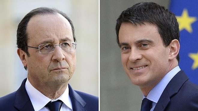 Hollande bate récords de impopularidad y Valls comienza al alza su mandato