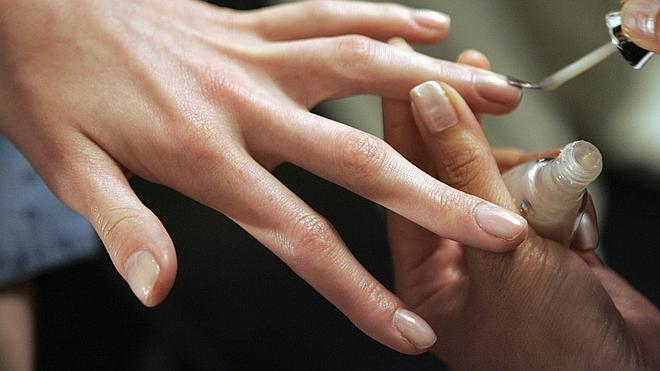 Uñas muy frágiles