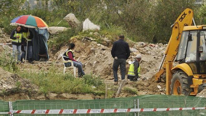 La Policía retoma nuevamente la búsqueda del cuerpo de Marta en la escombrera