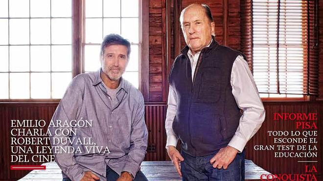 Emilio Aragón y Robert Duvall, un encuentro de cine