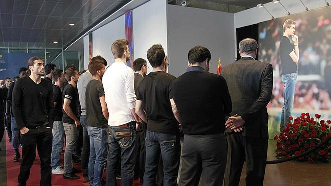 El Barça se despide de Tito Vilanova