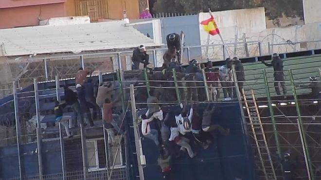 Prodein documenta en vídeo la devolución a Marruecos de unos inmigrantes