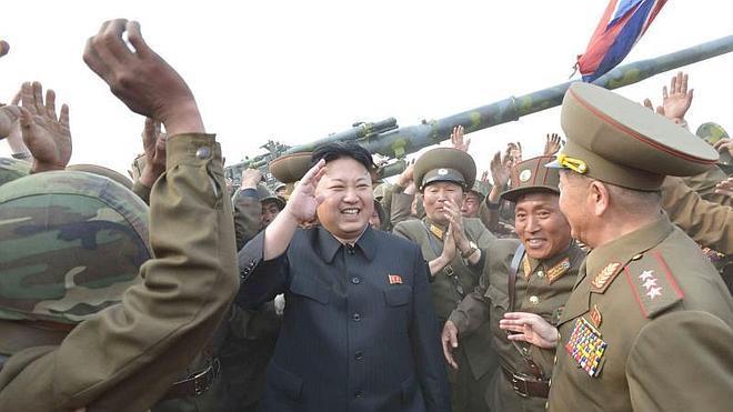 Pyongyang efectúa disparos de prueba cerca de la frontera marítima coreana