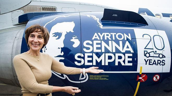 Un homenaje de altos vuelos para Ayrton Senna