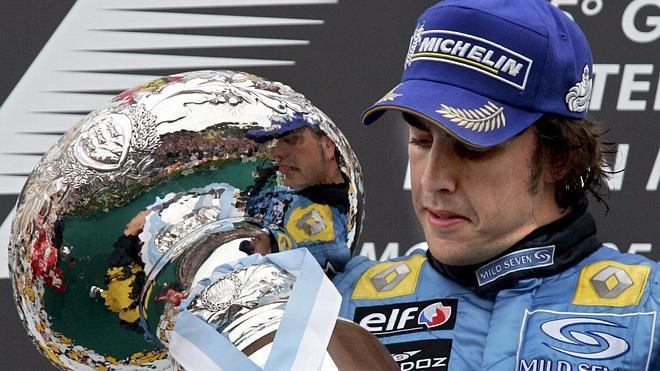 Alonso, en el homenaje a su ídolo