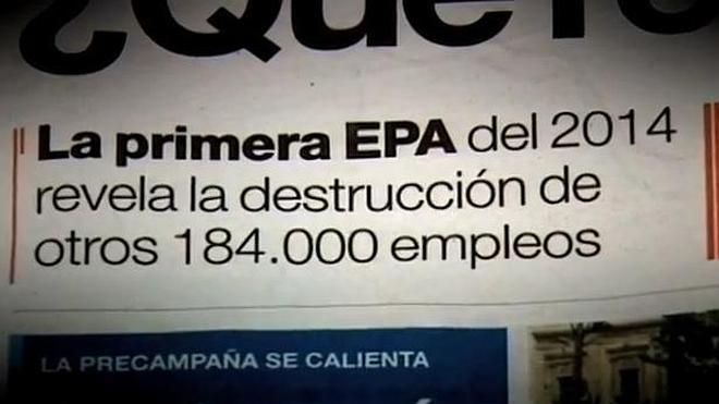 El PSOE critica en un vídeo el «triunfalismo y autobombo» de Rajoy