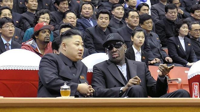 Rodman asegura haber visto al tío de Kim Jong-Un tras su anunciada ejecución