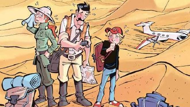 Un cómic ayuda a entender la artritis idiopática juvenil