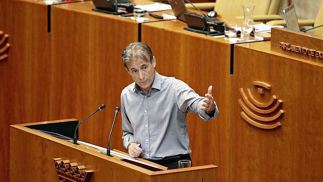 IU no apoyará la moción de censura contra Monago, por lo que no prosperará