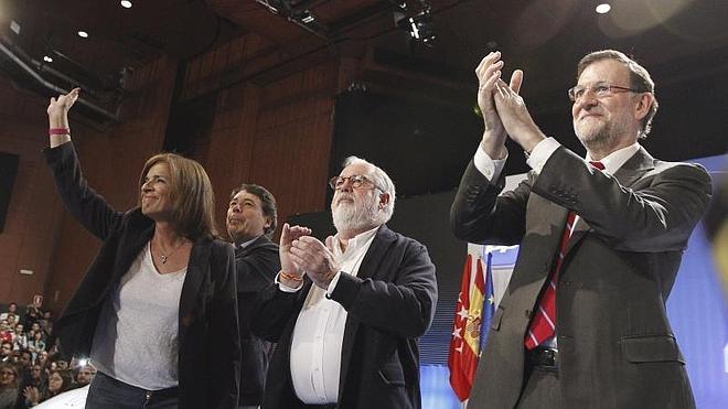 Rajoy: «Pido el voto para el PP, porque la recuperación no se puede tirar por la borda»