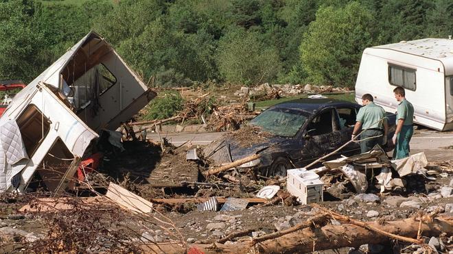 Un abogado pagará 840.000 euros a dos víctimas del camping de Biescas
