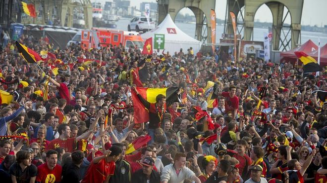 Muere un hincha belga celebrando la victoria de su selección