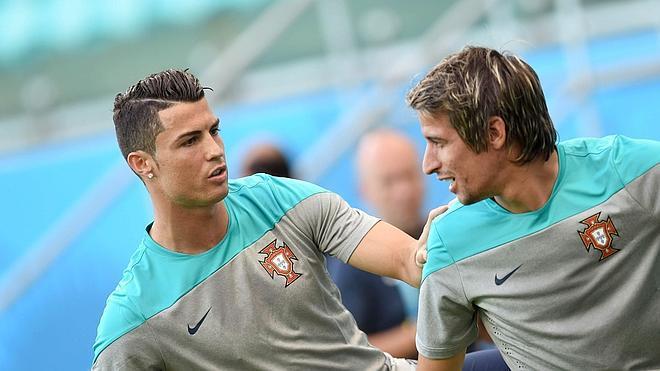 Coentrao: «Creo que Ronaldo va a hacer de las suyas ante EEUU»