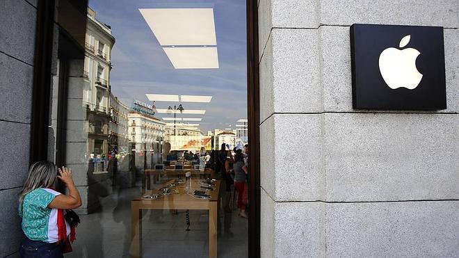 Una manzana en el corazón de Madrid