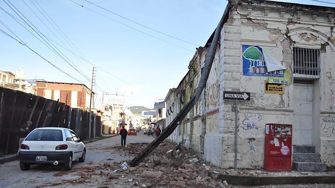 Al menos dos muertos en México y otro en Guatemala por un terremoto de 6,9 grados