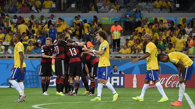 El ejército alemán devasta Brasil
